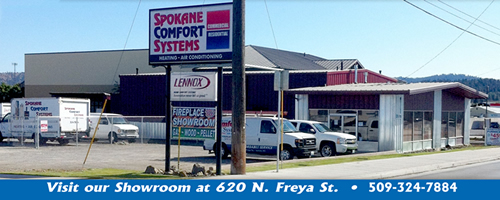 Spokane Comfort Systems is your local heating, air conditioning, and indoor air quality experts. Call us today!